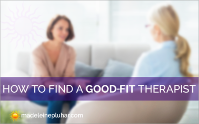 How to Find a Good-Fit Therapist